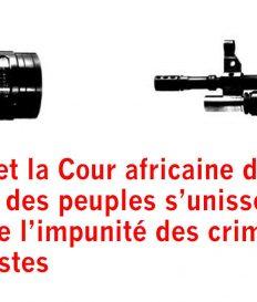 L'UNESCO et la Cour africaine des droits de l'homme et des peuples s'unissent pour lutter contre l'impunité des crimes contre les journalistes